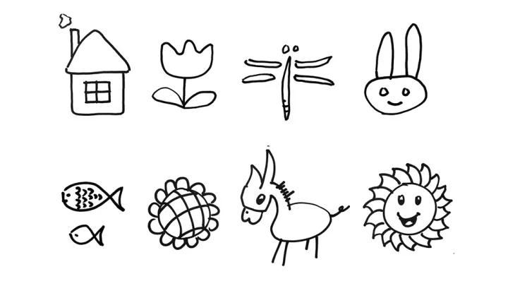 如此教法,如此画法,可以说,这样的美术老师,根本不理解,艺术对于孩子
